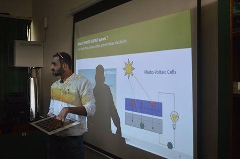 Solar Education Initiative @ Ramjas School, Delhi