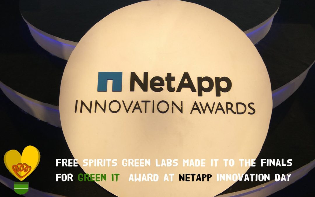 FSGL made it to the finals for Green IT Award at NetApp Innovation Day 2017