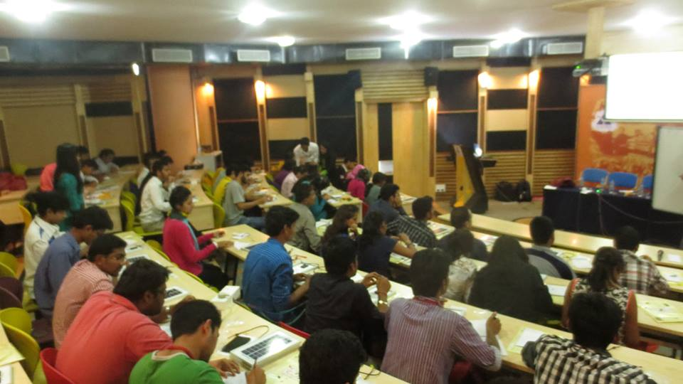 Solar Workshop Drive: AIT, Bangalore