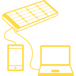 Solar charging station helps to charge your devices and saves a lot of money