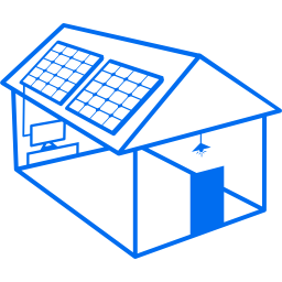 Solar Home System for custom and high power requirement of a rural home