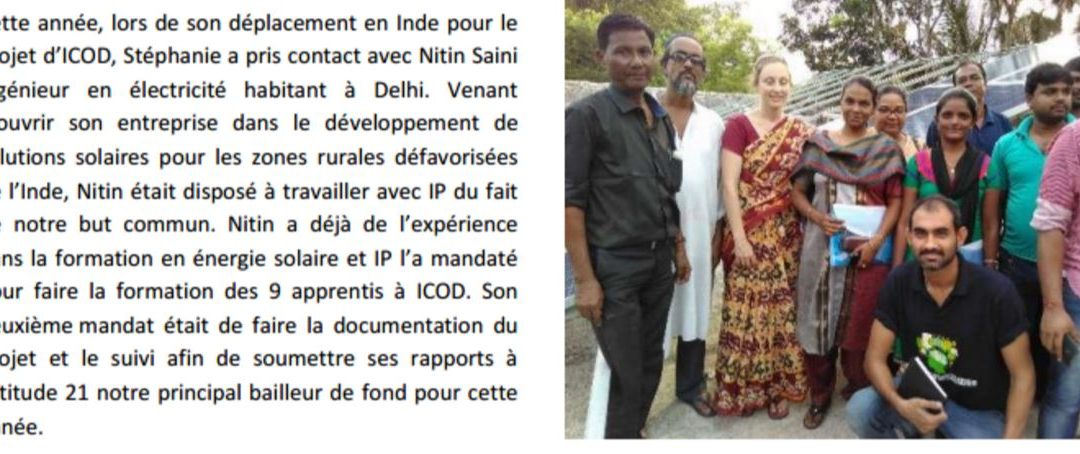 Successful partnership with Indian Project achieved great results in rural West Bengal