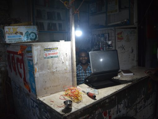 Smart Solar Grid illuminates areas of Maharajganj,Uttar Pradesh