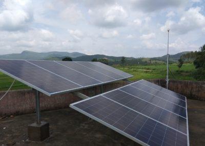 GoldiGreen Solar Panels for solar rural electrification in schools of koraput orissa