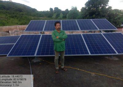 Solar Power Plants Installed in 20 Sevashram (Schools) of Odisha's Koraput district