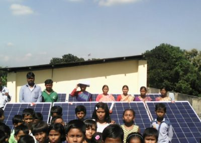 5 kWp On Grid solar PV system at Howrah South Point, Mogradangi