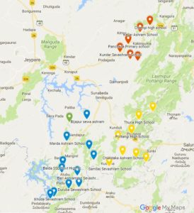 Koraput Installations Maps Legend